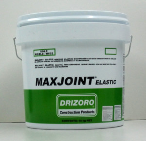 MAXJOINT® Elastic expansion joint sealant, sealing joints in cracked concrete