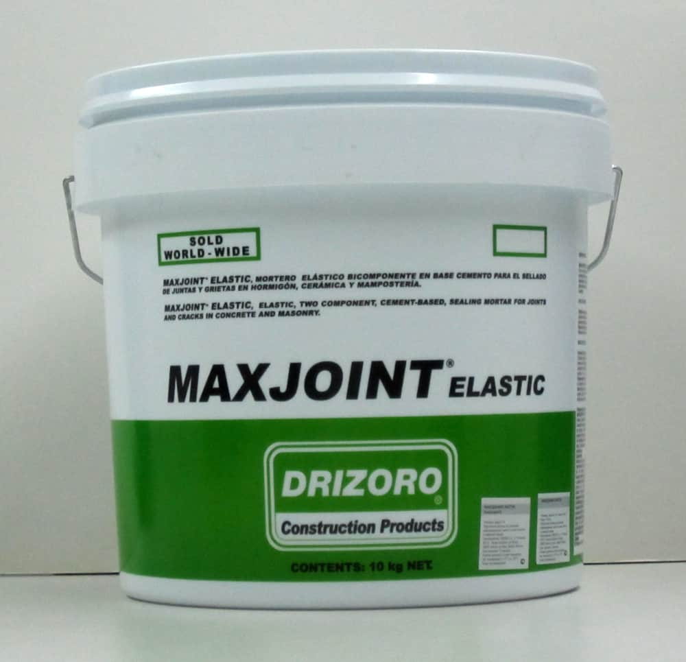 Maxjoint Elastic - sealing joints and cracks in concrete