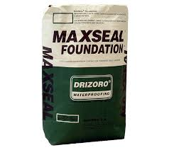 Maxseal Foundation - cement based waterproof membrane coating,for concrete, brick, cement, blocks and masonry. Used for waterproofing basements, retaining walls, car parks and foundations.