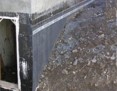 Proper External waterproofing should prevent water entry so you don't have to relieve hydrostatic pressure