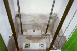 seal-lift-well-after, Waterproofing Lift Wells