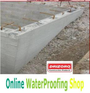 Drizoro maxseal super for basement walls