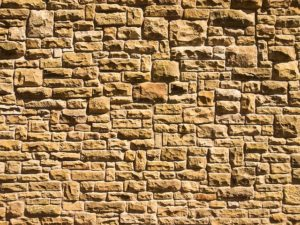 how to clean & seal sandstone surfaces, stained-sandstone