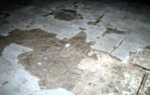 slab with moisture - concrete flooring excessive moisture