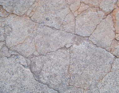 What is concrete cancer, rust stains showing rebar corrosion