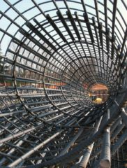 Where Rebar steel has no protective coating