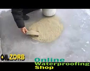 Oilzorb can recover oil spills even on ice