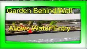 Leaking Garden bubbling Paint